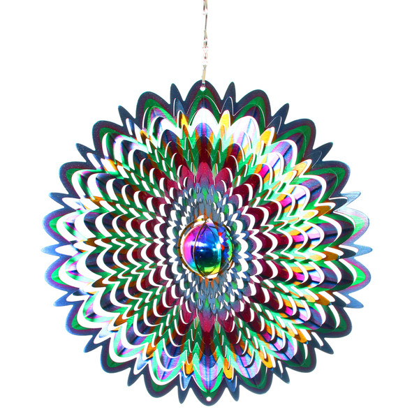 Gazing Mandala Wind Spinner