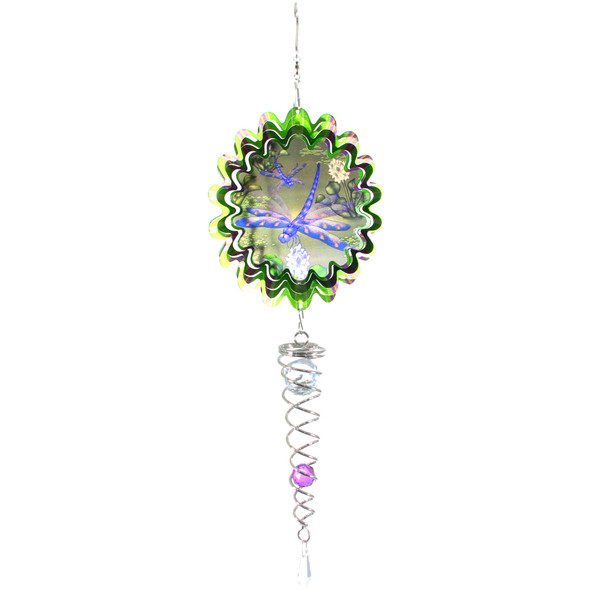 Dragonfly Mirror Small Wind Spinner