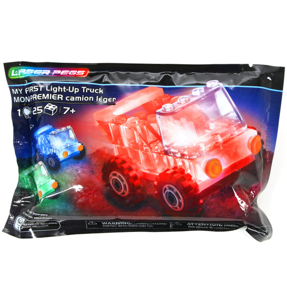 Laser Pegs Mystery Lighted Truck
