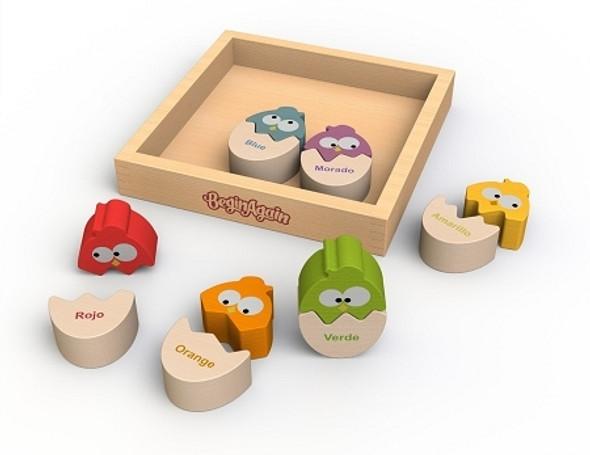 Color 'n Eggs Wood Puzzle