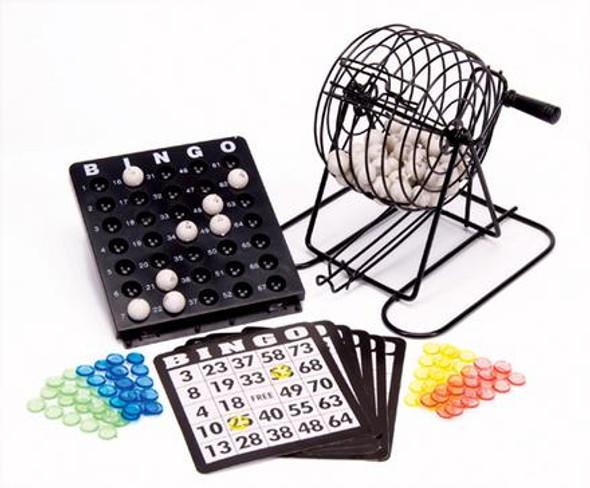 Deluxe Parlor Bingo Set