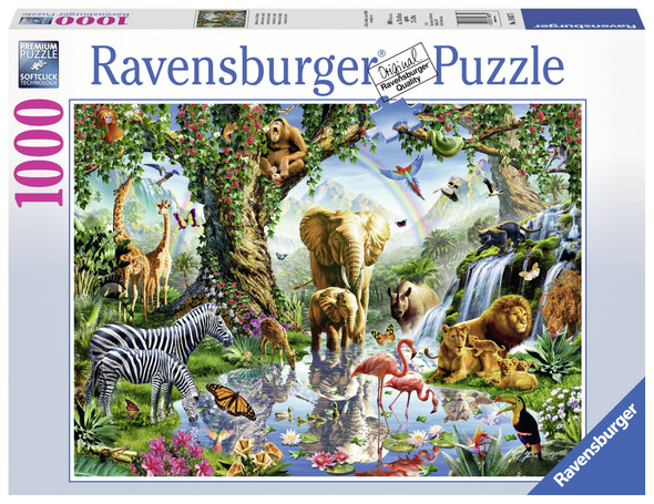 Adventures in the Jungle 1000pc Puzzle