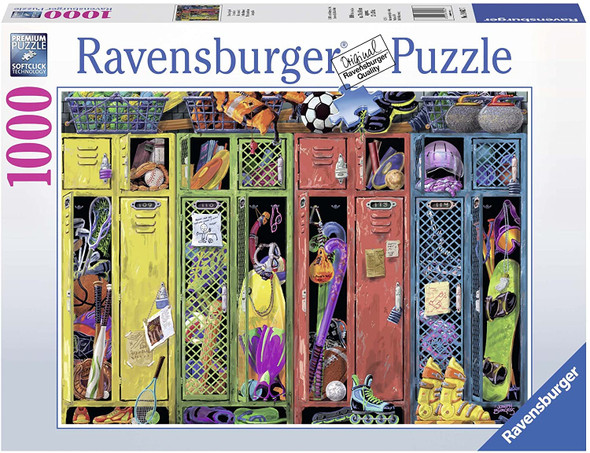 The Locker room 1000pc Puzzle