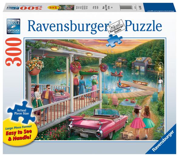 Summer at the Lake 300pc XL Puzzle