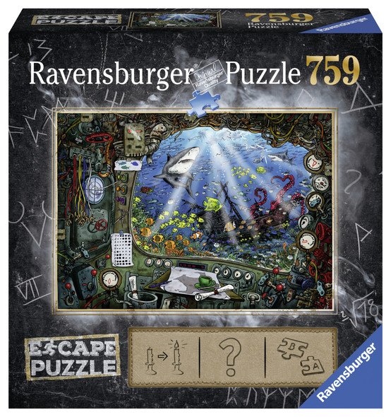 Submarine Escape 759pc Puzzle