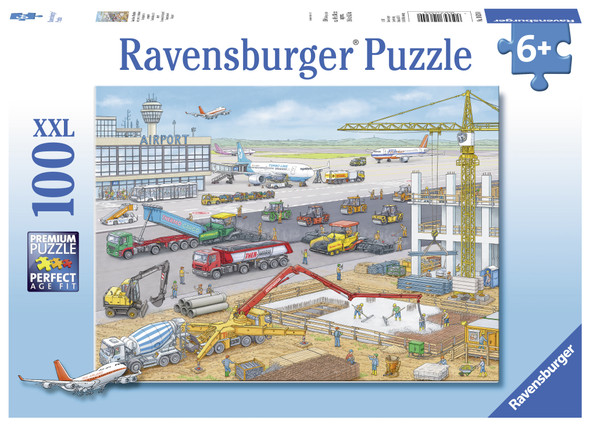 Construction at the Airport 100pc Puzzle