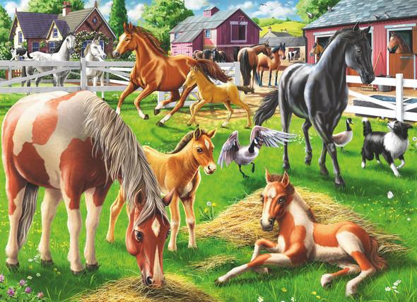Happy Horses 60pc Puzzle