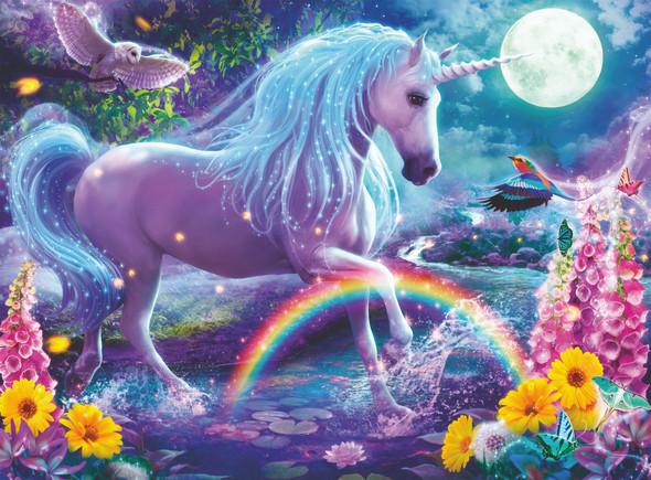Glitter Unicorn 100pc Puzzle
