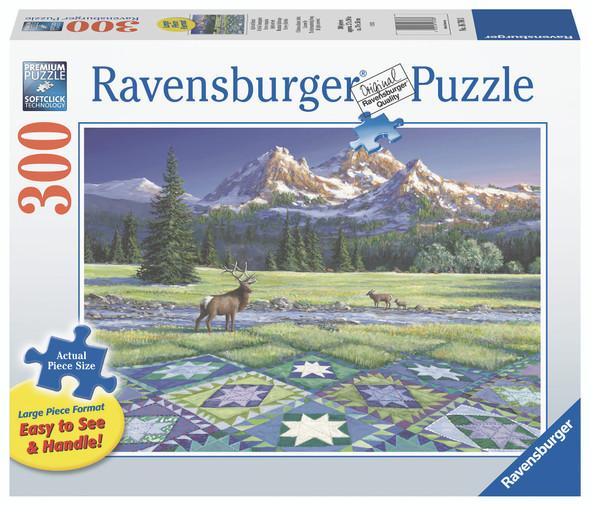 Mountain Quiltscape 300pc XL Puzzle