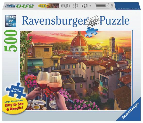 Cozy Wine Terrace 500pc XL Puzzle