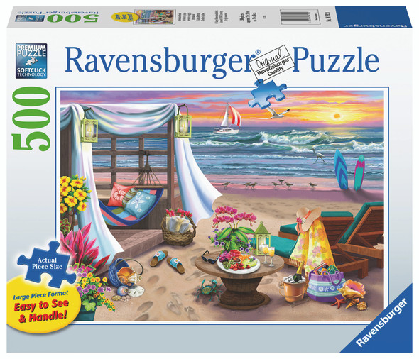 Cabana Retreat 500pc XL Puzzle