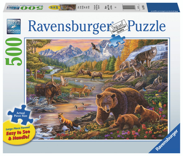 Wilderness 500pc XL Puzzle