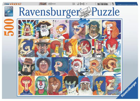 Typefaces 500pc Puzzle