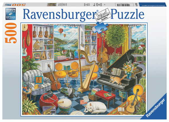 The Music Room 500pc Puzzle