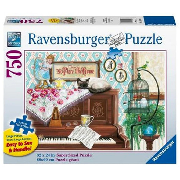 Piano Cat 750pc XL Puzzle