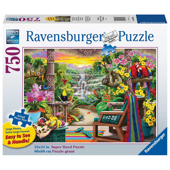 Tropical Retreat 750pc XL Puzzle