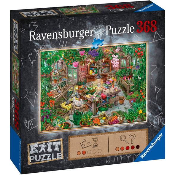 The Cursed Greenhouse Escape 368pc Puzzle