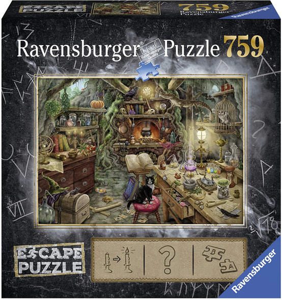 Witch's Kitchen Escape 759pc Puzzle