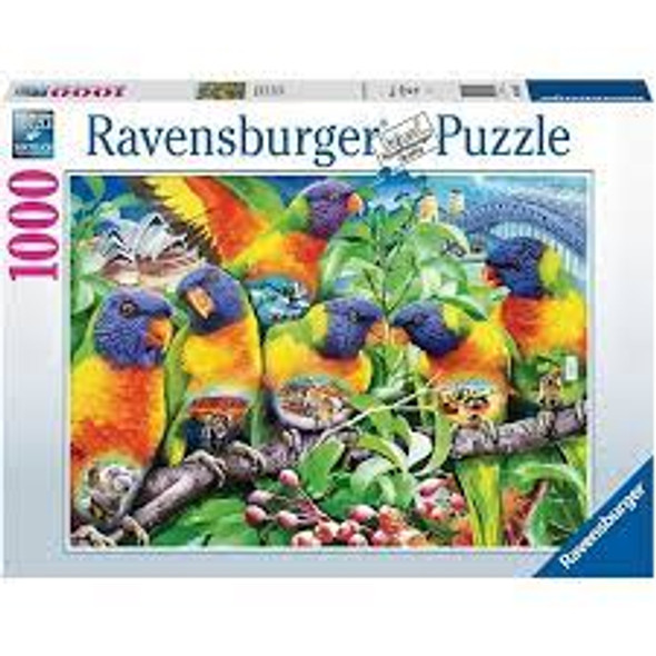 Land of the Lorikeet 1000pc Puzzle