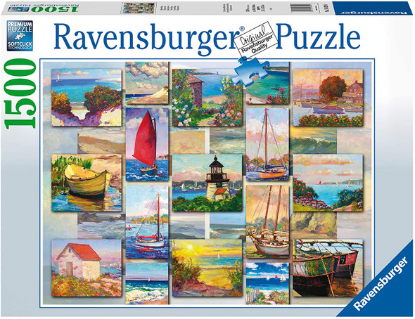 Coastal Collage 1500pc Puzzle