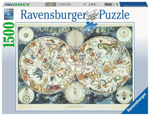 Map of the World 1500pc Puzzle