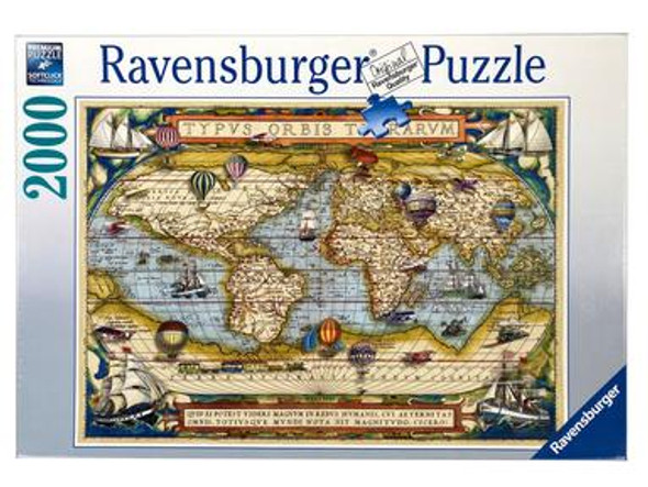 Around the World 2000pc Puzzle