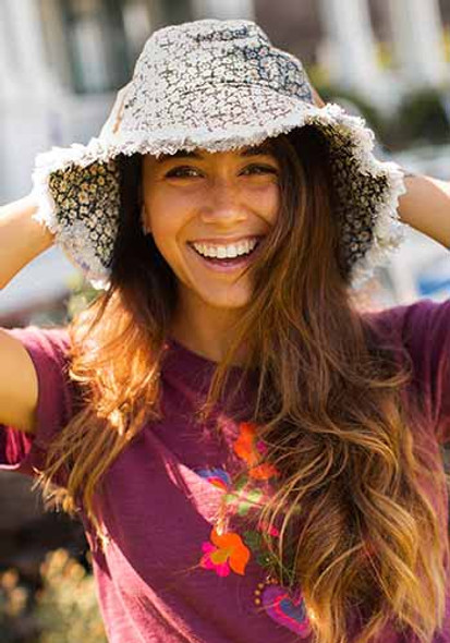 Ditsy Floral Bucket Hat