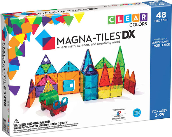 Magna-Tiles Deluxe 48-piece set