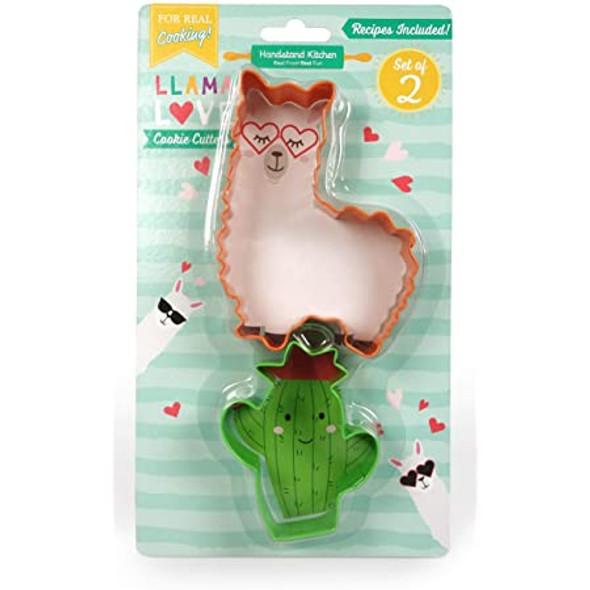 Llama Love Cookie Cutter Set