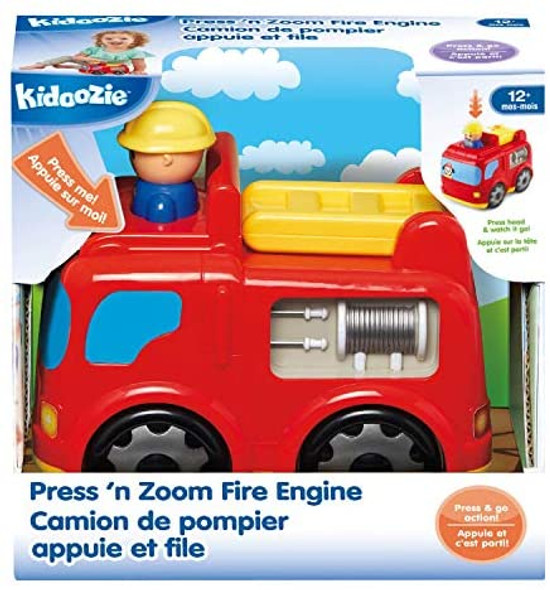 Press 'n Zoom Fire Engine