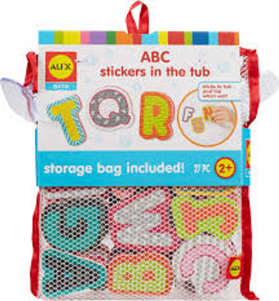 ABC Bathtime Stickers