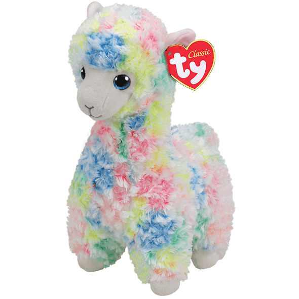 Lola Multicolored Llama Plush