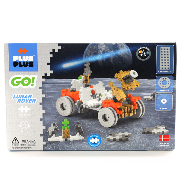Go Lunar Rover Build Set