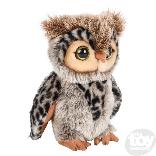 Heirloom Floppy Owl Plush