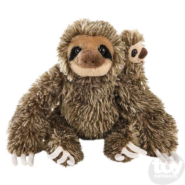 Mommy & Baby Sloth Plush