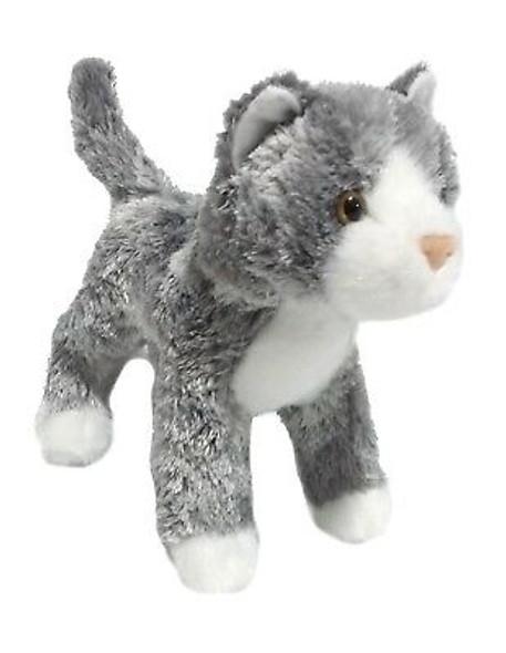 Scatter Gray Cat Plush