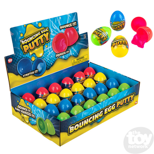 Bouncing Putty Egg
