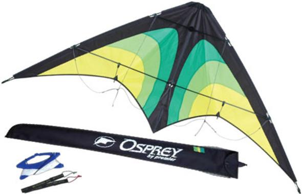 Osprey Stunt Kite - Green Raptor