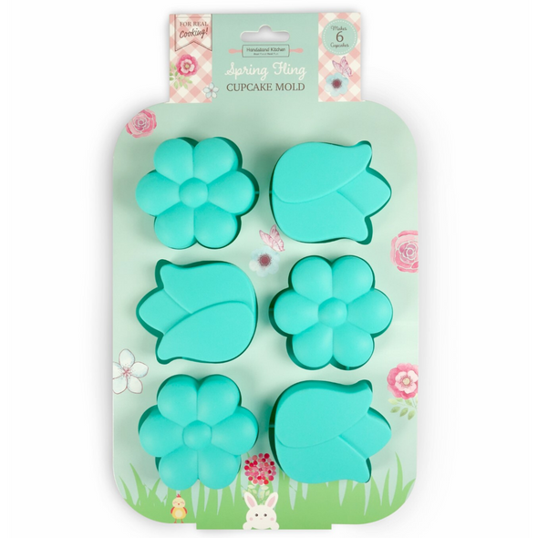 Flower Cupcake Mold