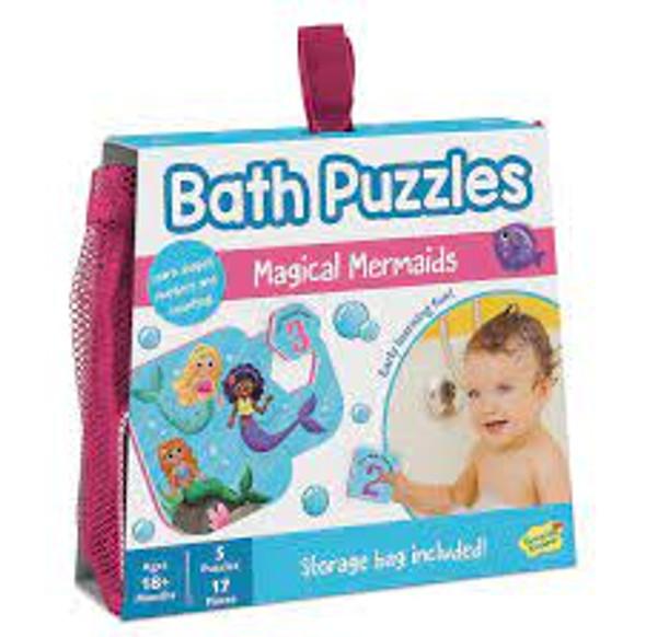 Mermaids Bath Puzzlers