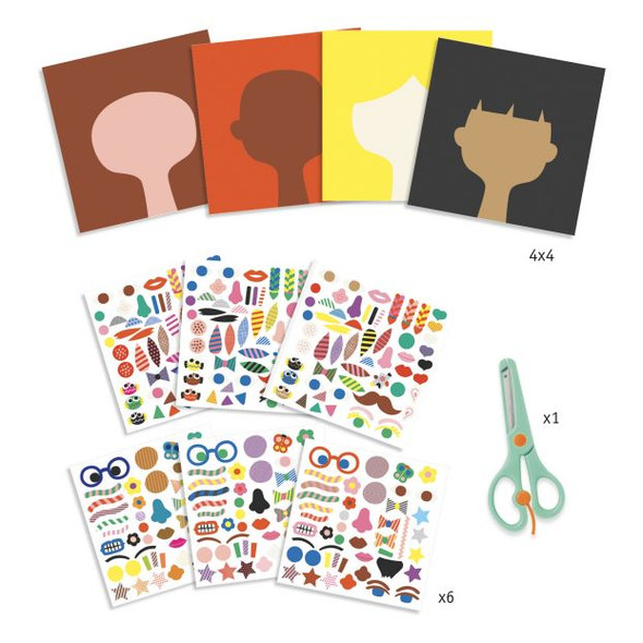 Hairdresser Sticker Set