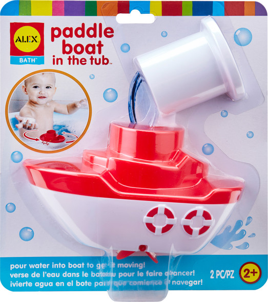 Paddle Boat in the Tub