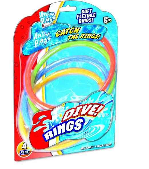 Dive Rings - 4 pack