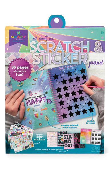 All About Me Scratchbook