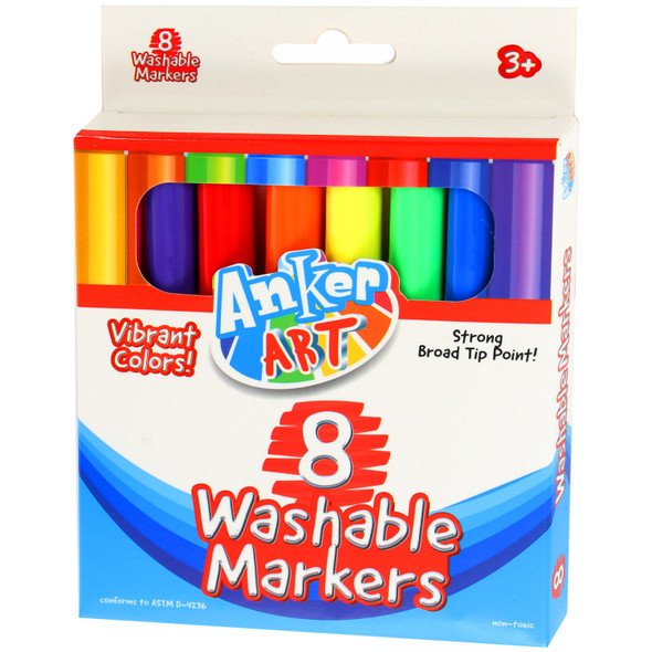 Vibrant Washable Markers
