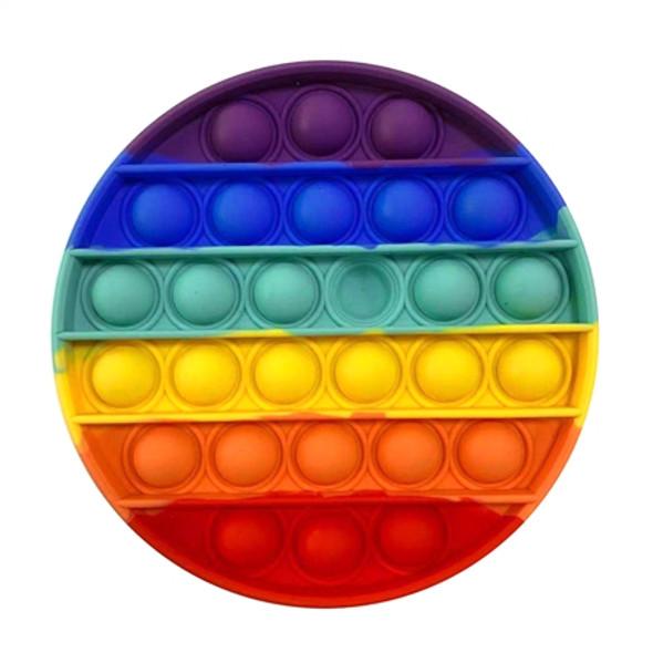 Pop It Rainbow Circle Fidget