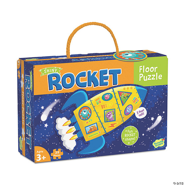 Shiny Rocket 39pc Floor Puzzle