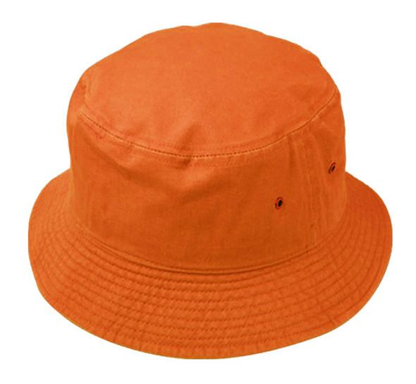 Orange Bucket Hat