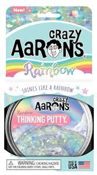 Crazy Aaron's Rainbow Thinking Putty