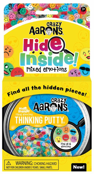 Crazy Aaron's Mixed Emotions Thinking Putty